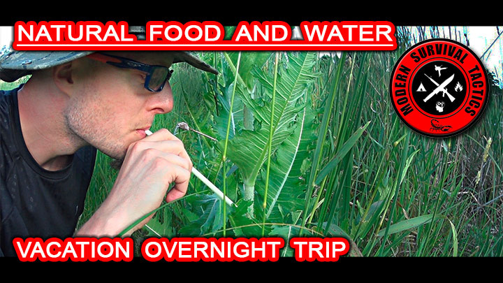 Natural Food and Water Options / VACATION OVERNIGHT TRIP